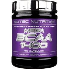 Mega BCAA 1400 (180 капс)