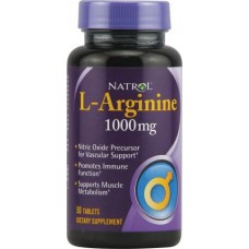 L-Arginine 1000 мг (50 таб)