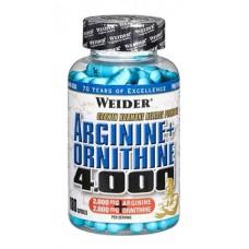Arginine+Ornithine 4000 (180 капс)