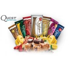 Questbar (17 шт), набор из разных вкусов