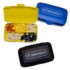 Контейнер для таблеток/капсул, черный