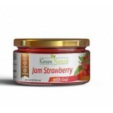 Бескалорийный джем с ягодами Годжи со вкусом клубники (200 мл)
